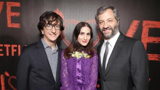 Paul Rust, Lesley Arfin, Judd Apatow